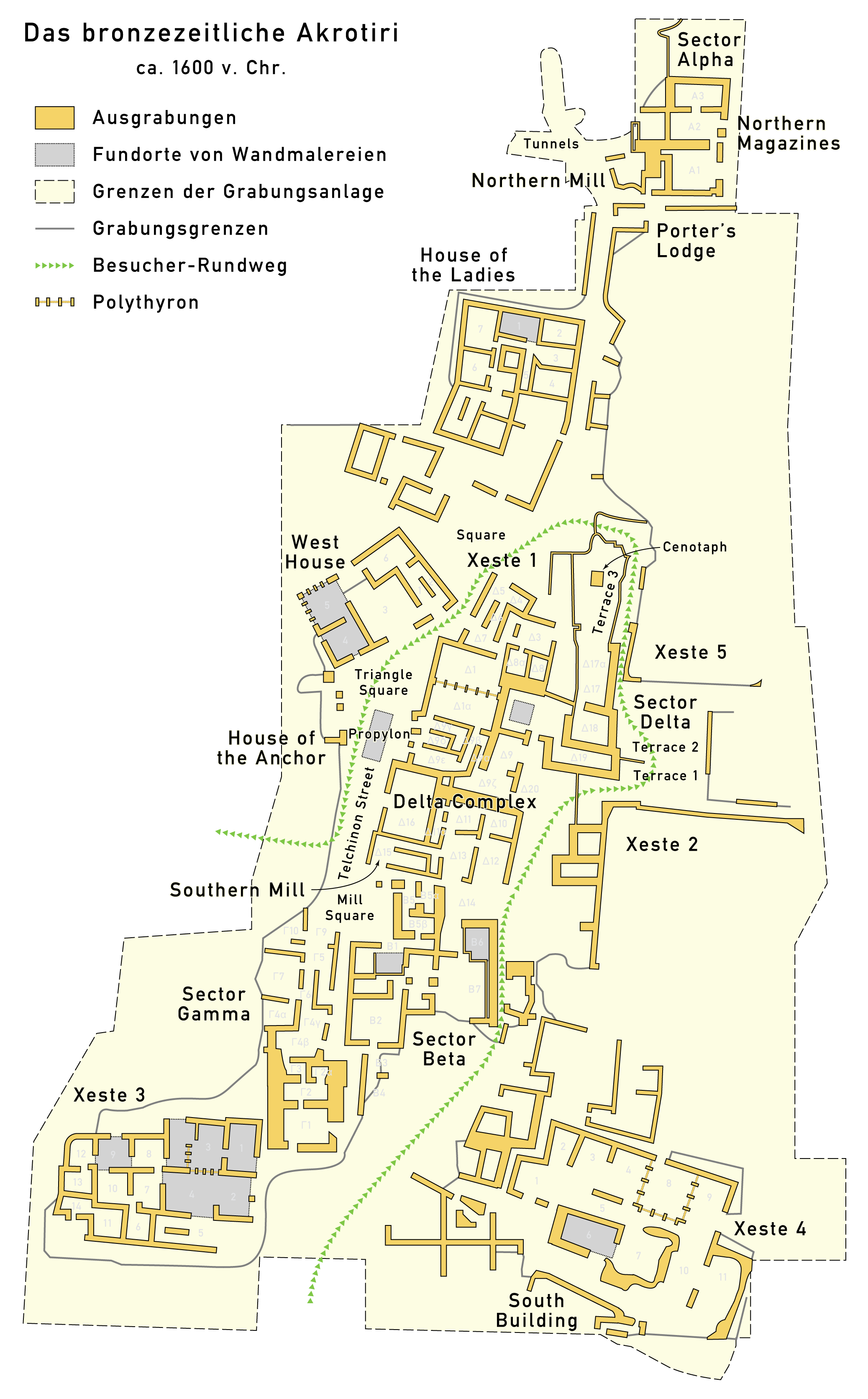 FileMap Akrotiri 1600 BCdepng Wikimedia Commons