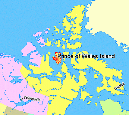 Prince Of Wales Island Map File:Map indicating Prince of Wales Island, Nunavut, Canada.png  Prince Of Wales Island Map