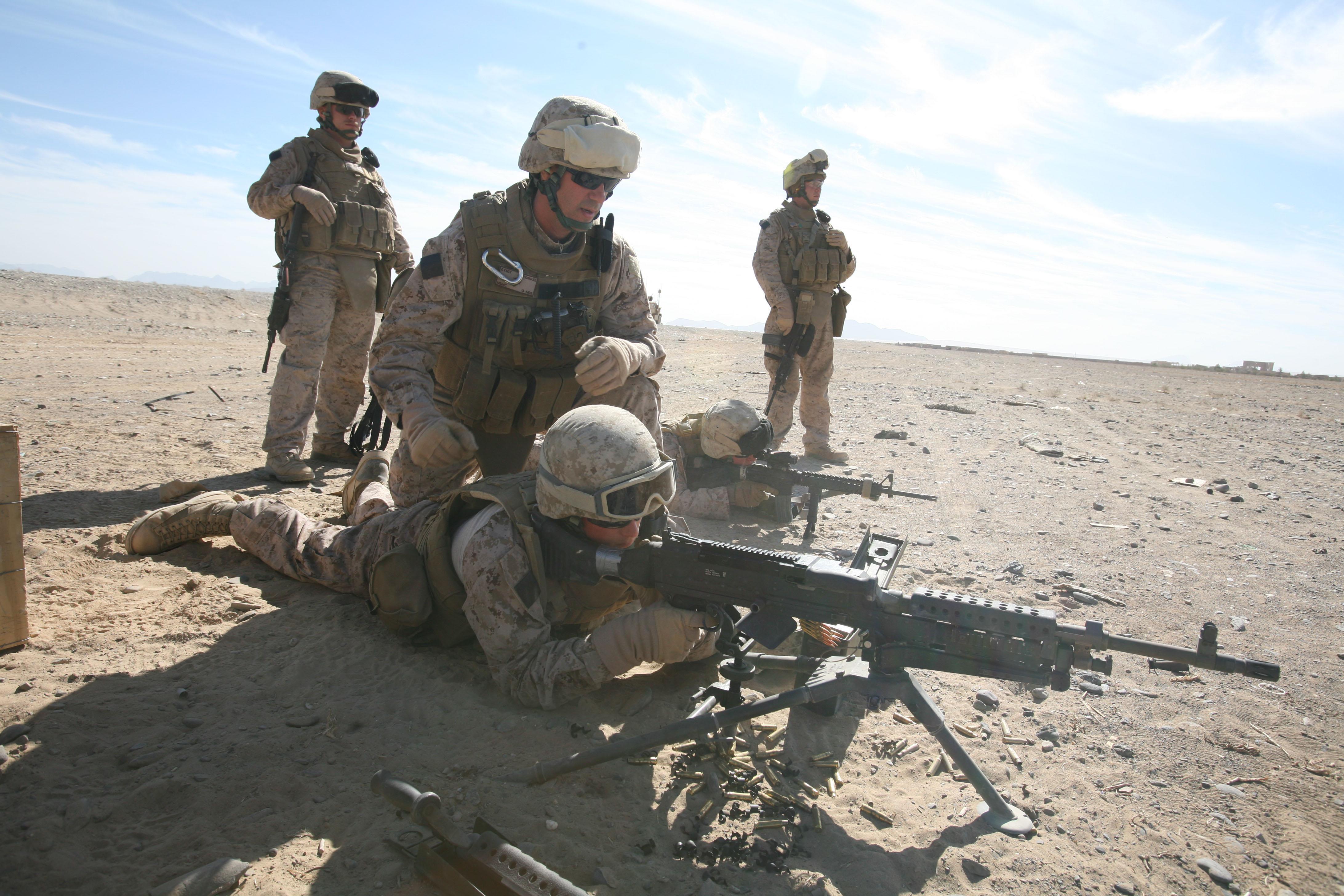File:Marines train at Tarnak Farms jpg - Wikimedia Commons