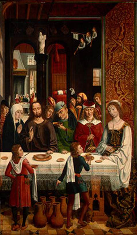 Master of the Catholic Kings, Marriage at Cana, ca. 1495-97