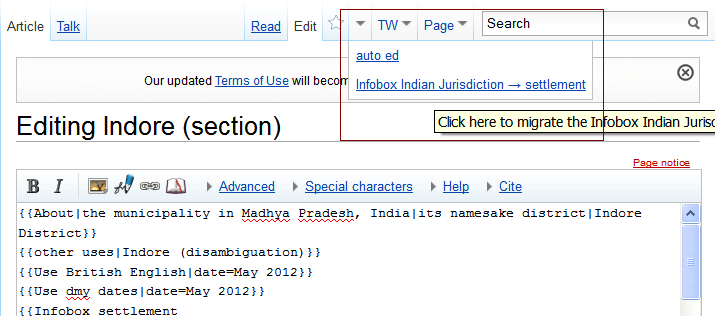 Migrate Infobox Indian Jurisdiction to Infobox settlement.png