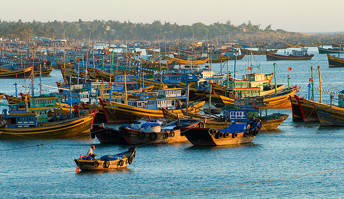 Village des pêcheurs à Mui Ne