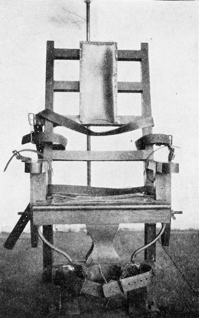 Miraculous File N 2000 33 Electric Chair State Prison 1929 28860610026 Cjindustries Chair Design For Home Cjindustriesco