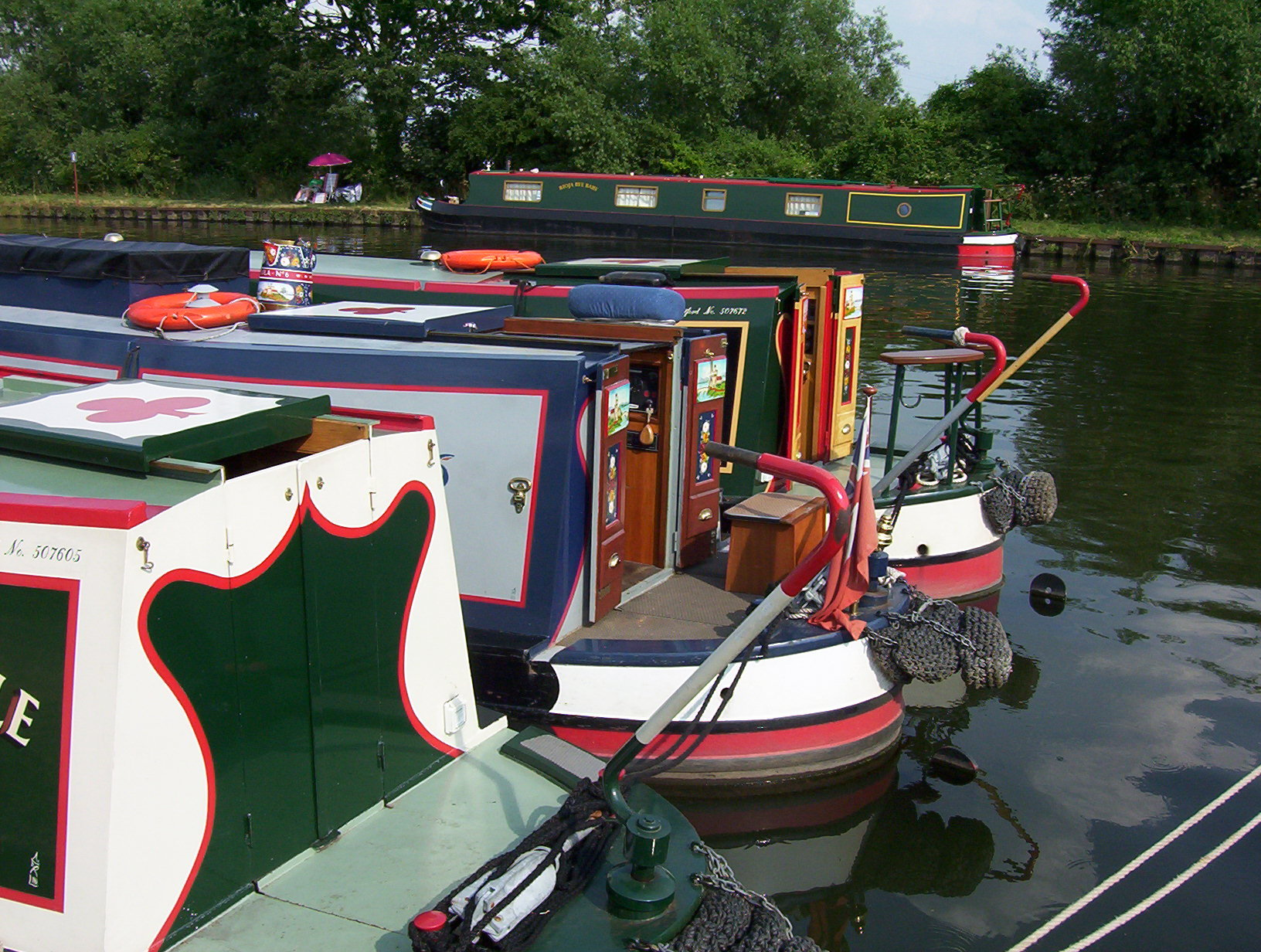 traditional trad stern narrowboat canal boat glossary