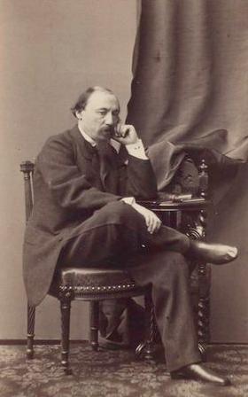 Н.А.Некрасов, 1865 год.