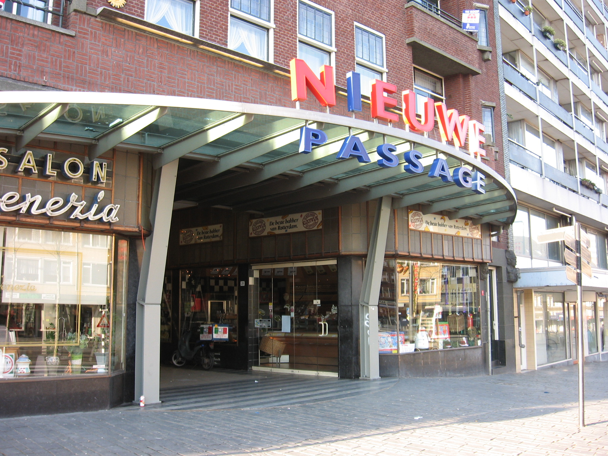 File Nieuwe passage Schiedam 001 jpg  Wikimedia Commons