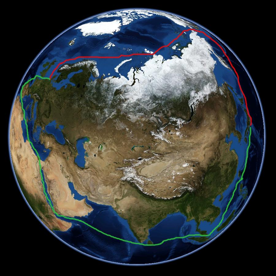 Картинки по запросу Nordostpassage_NASA_Worldwind-globe