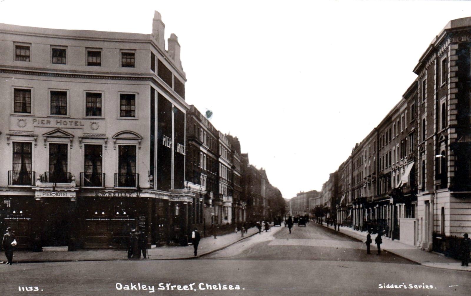 File Oakley Street Chelsea With Pier Hotel 1910 Jpg