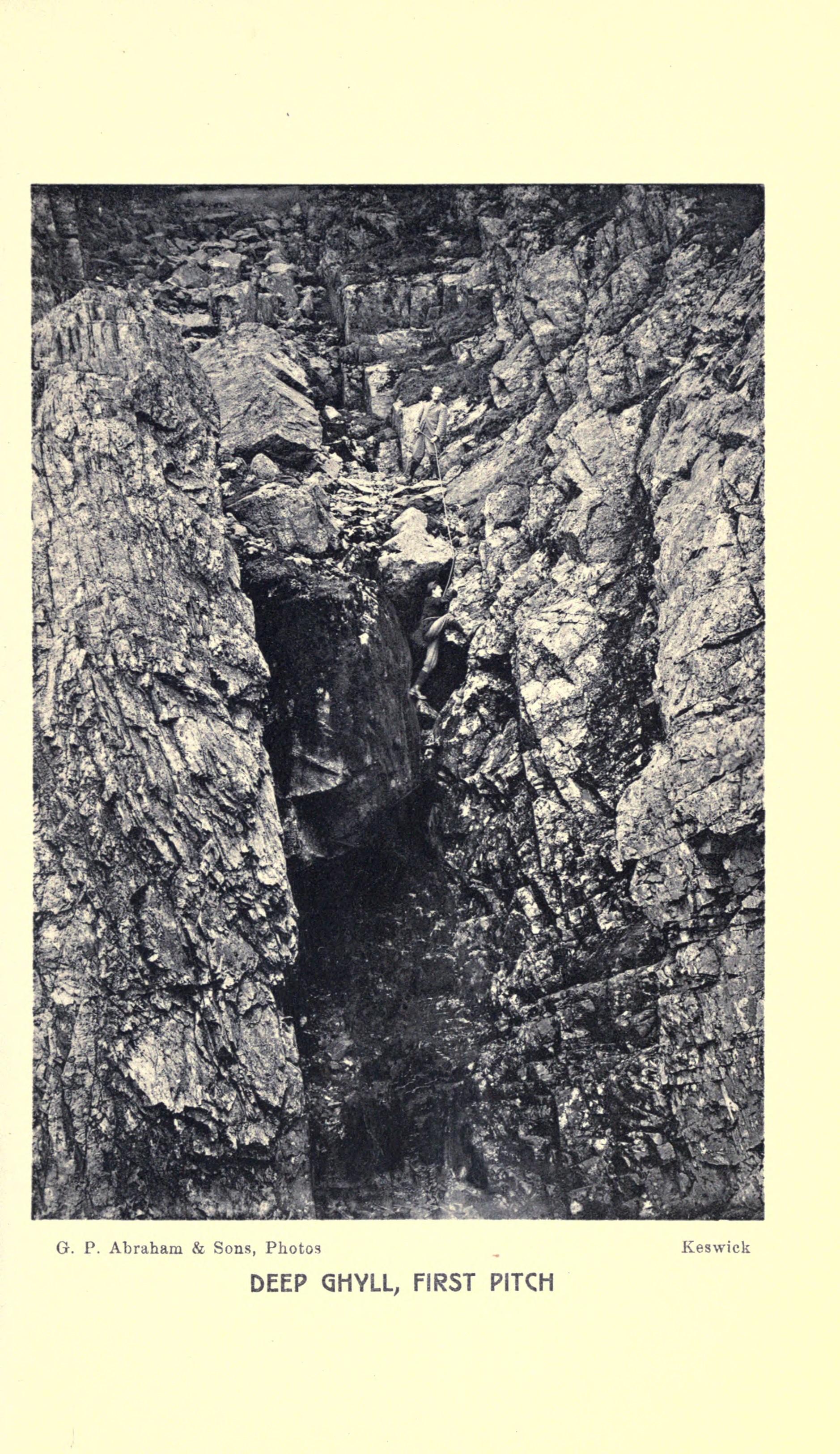 Mountaineers circa 1900