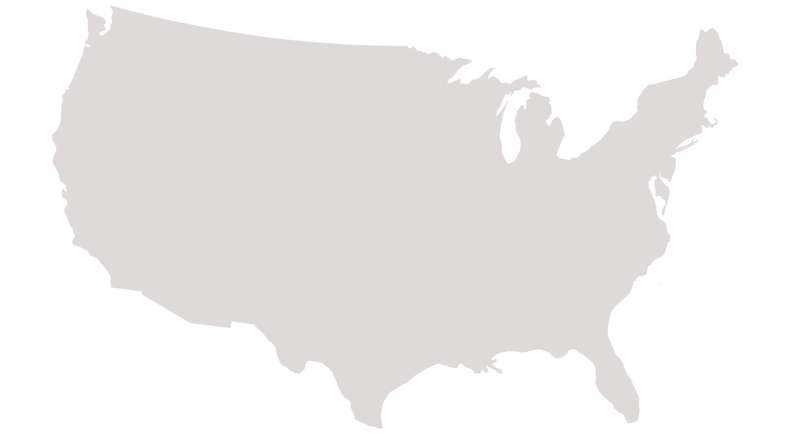 FilePNGedUSoutlinepng Wikimedia Commons - Us map no color