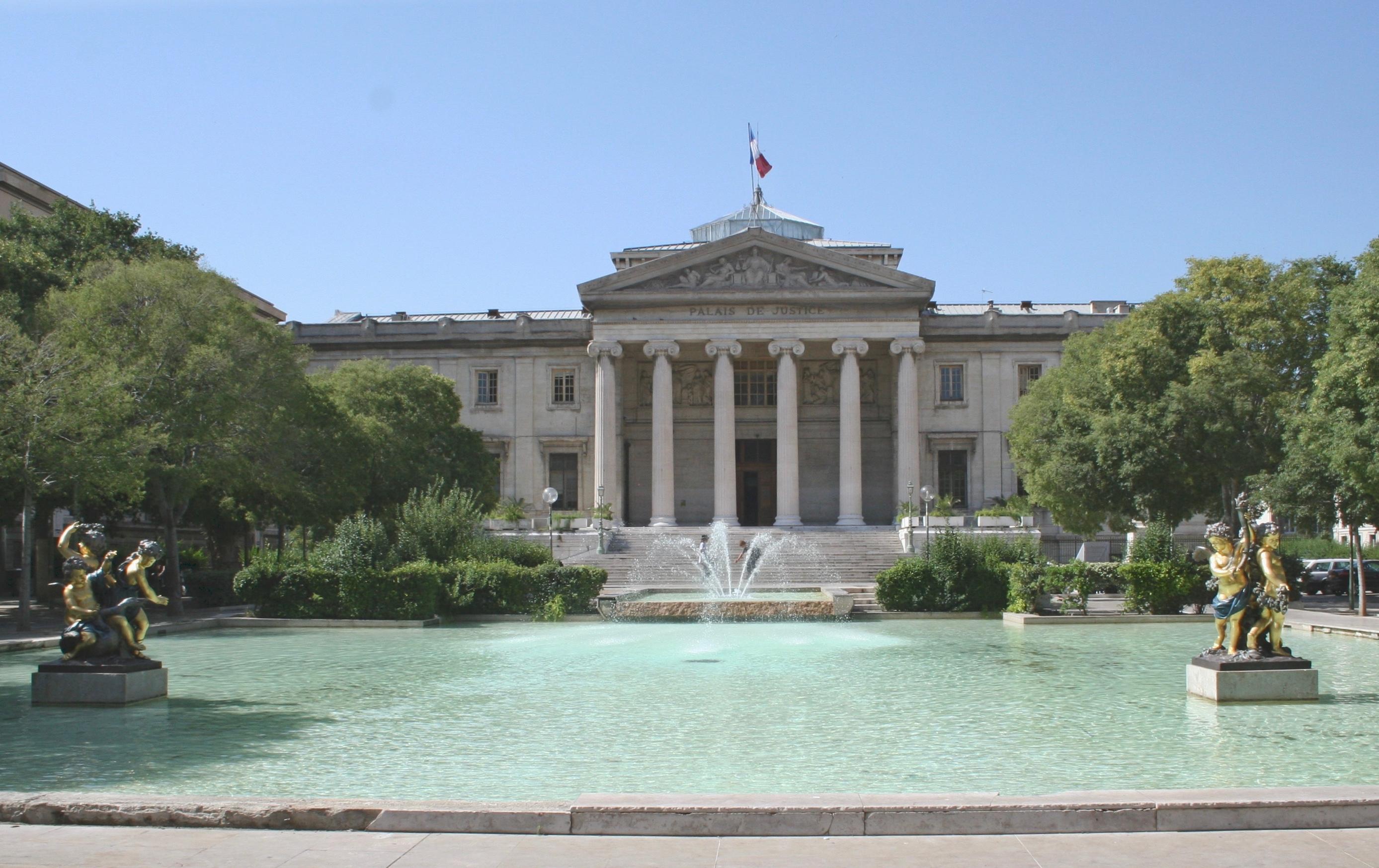 Palacio de justicia de Marsella - Wikipedia, la enciclopedia libre