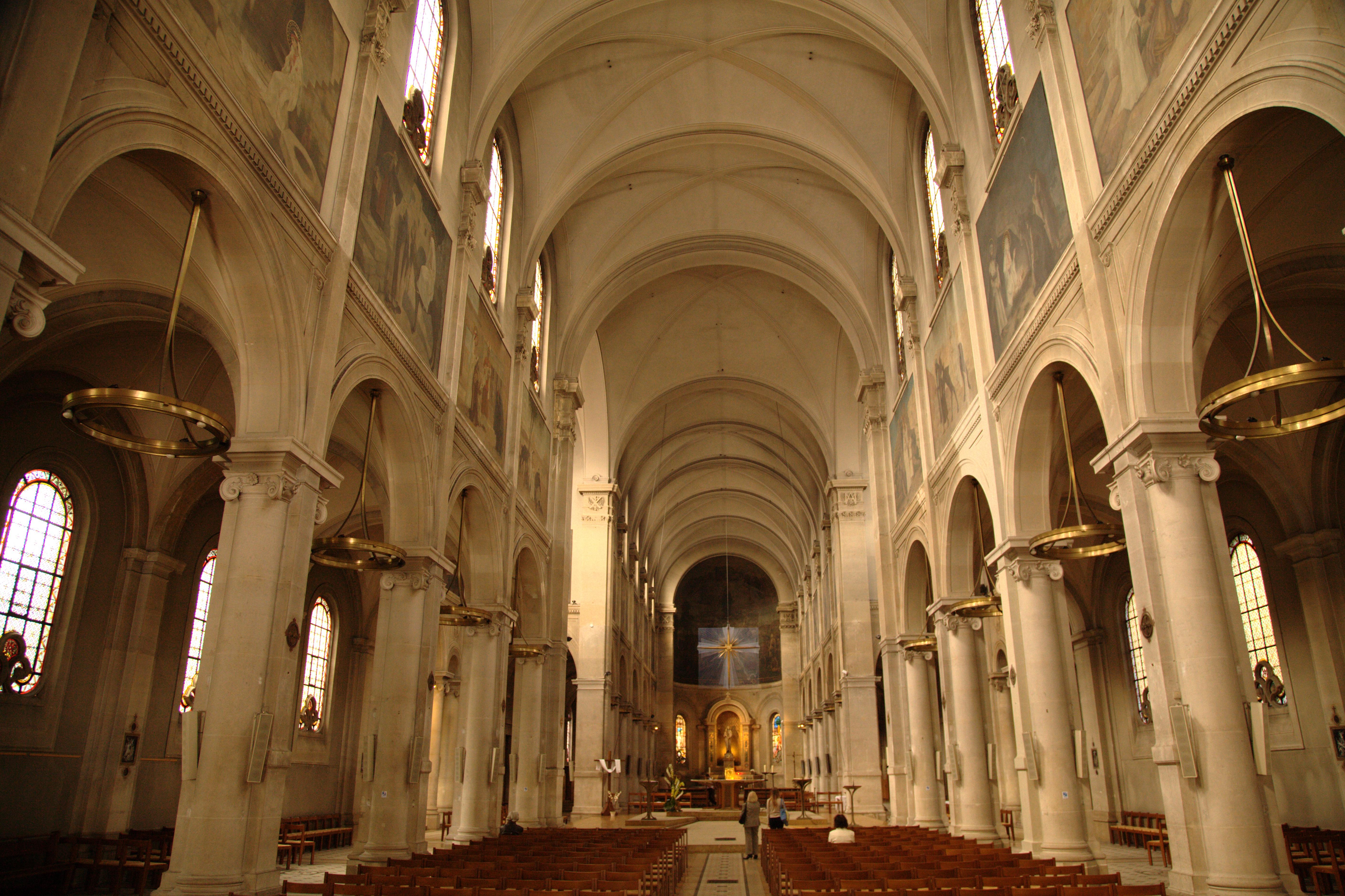 File paris eglise nd des champs wikimedia for Interieur eglise