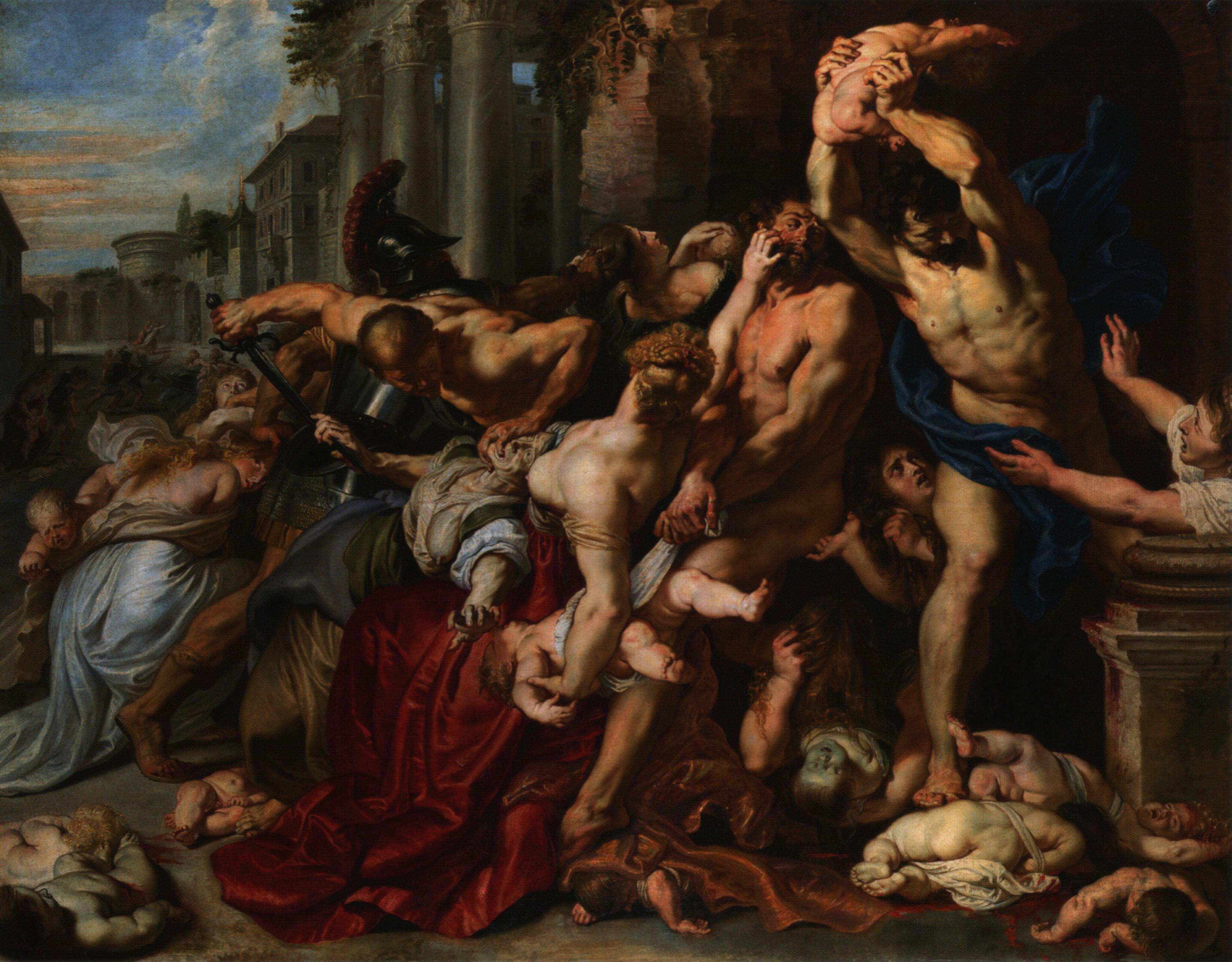 Massacre of the Innocents, Rubens 1611-12