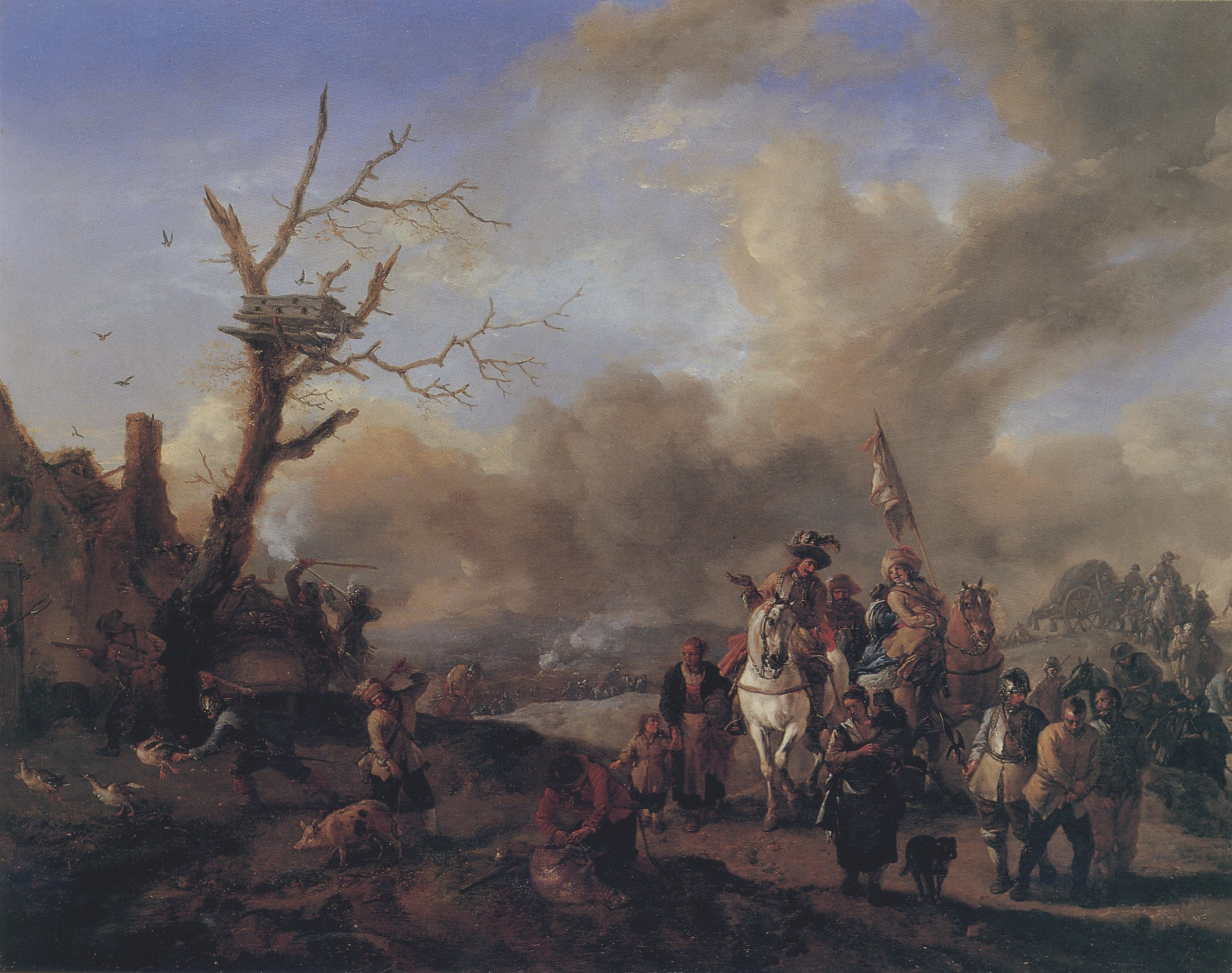 file philips wouwerman soldatentro jpg wikimedia commons