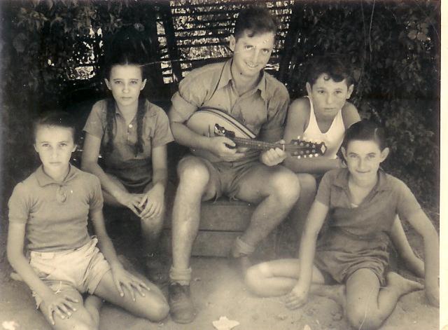ילדי צופית הראשונים בחופשת הקיץ