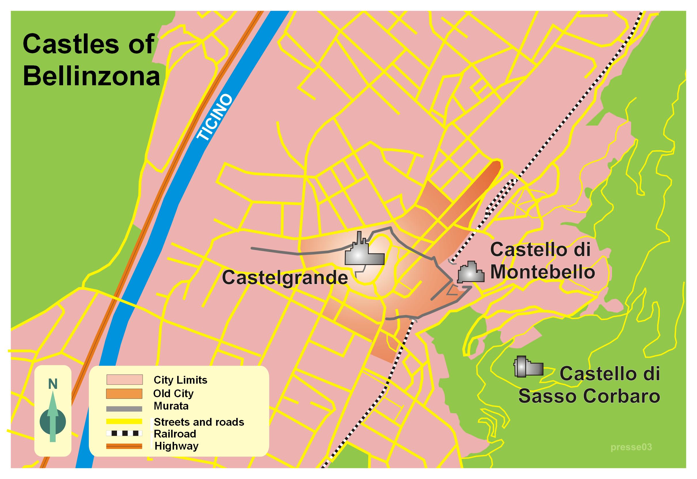Castles of Bellinzona Wikiwand