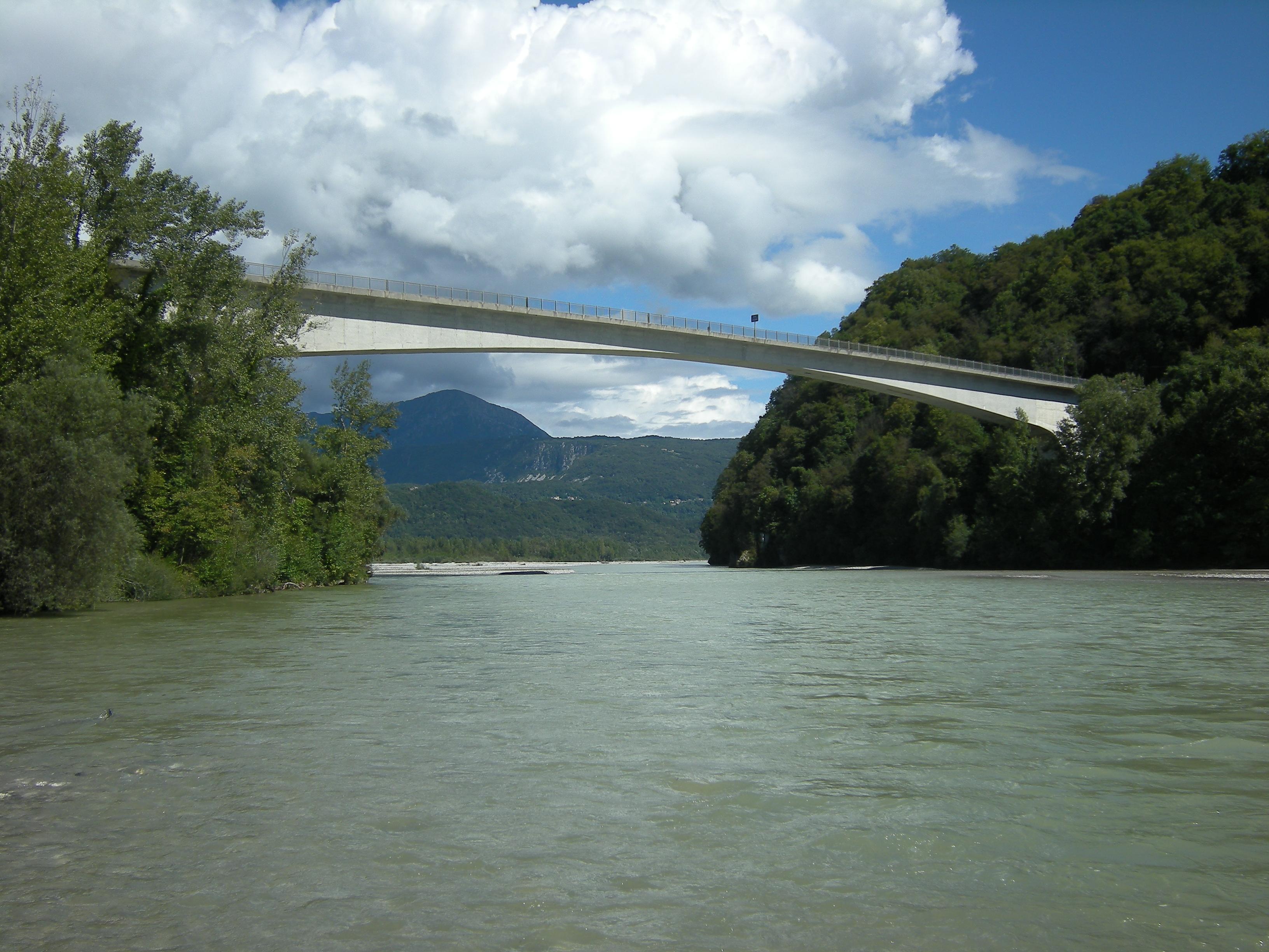 Fail ponte di pinzano jpg vikipeedia vaba ents klopeedia for Piani di fondazione del ponte