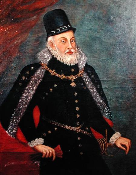 Portrait of Philip II (1527-98) of Spain