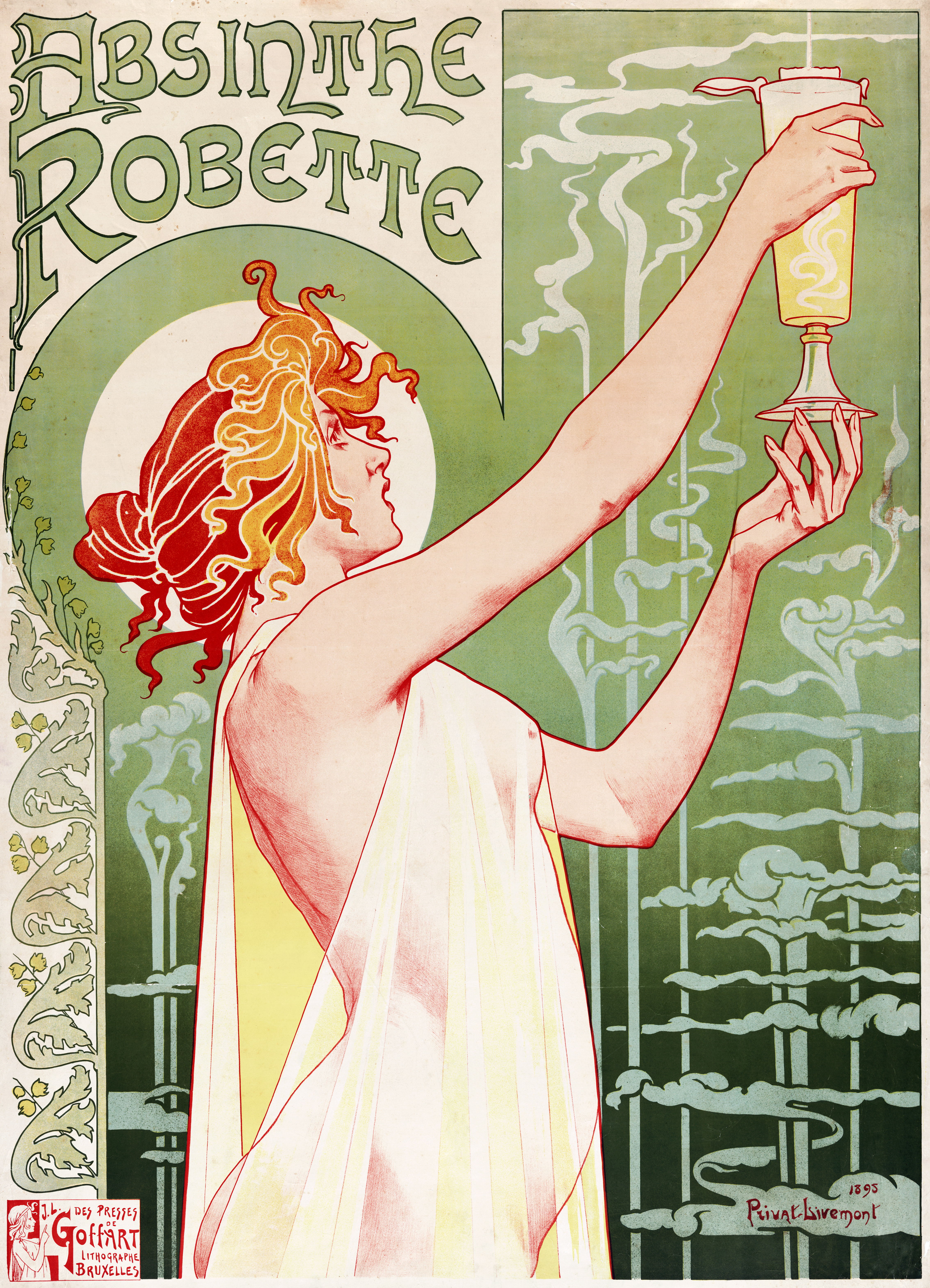 Art nouveau on pinterest alphonse mucha art nouveau poster and french art - Art nouveau art deco ...