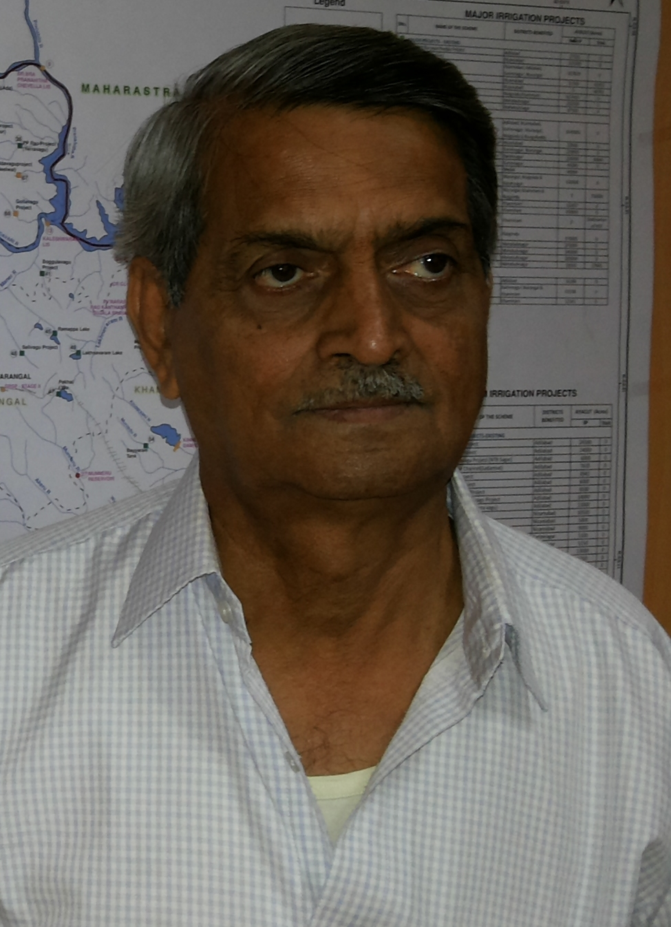 R Vidyasagar Rao Legendary Engineer From Telangana India In His Chambers July