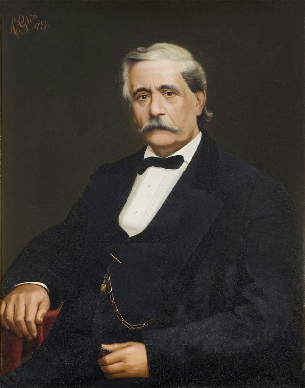 Antonio Barezzi, mecenas y suegro de Giuseppe Verdi