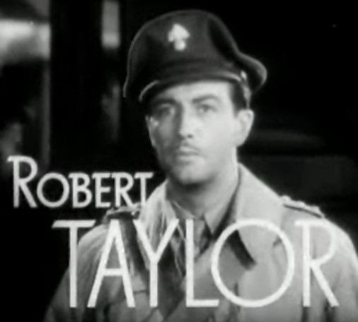 Robert Taylor in Waterloo Bridge trailer