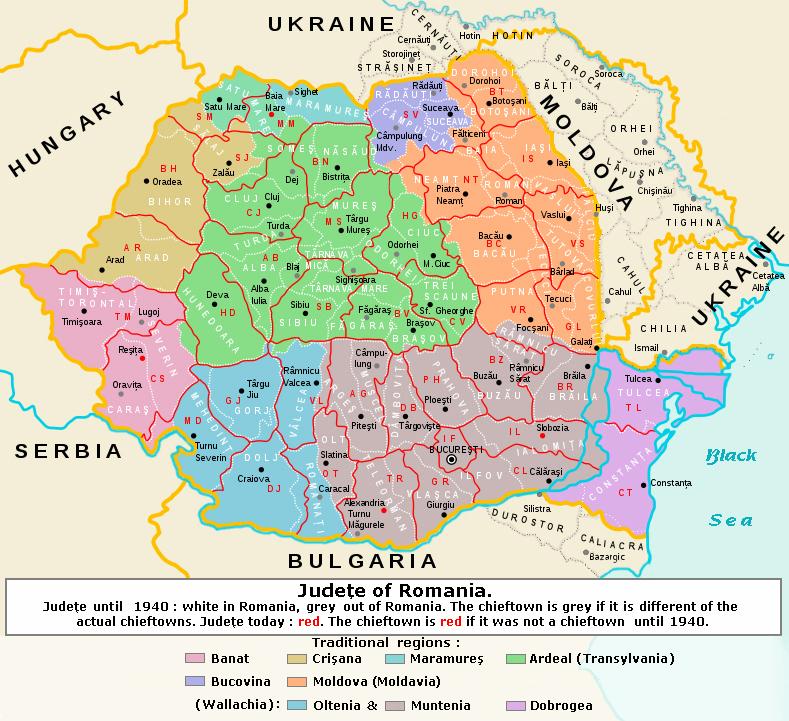 File Romania Judeţe 1940 2010 Jpg Wikimedia Commons