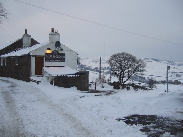 Creative Commons image of The Rose & Crown in Huddersfield
