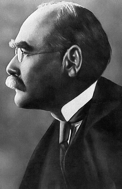 Photograph of Rudyard Kipling