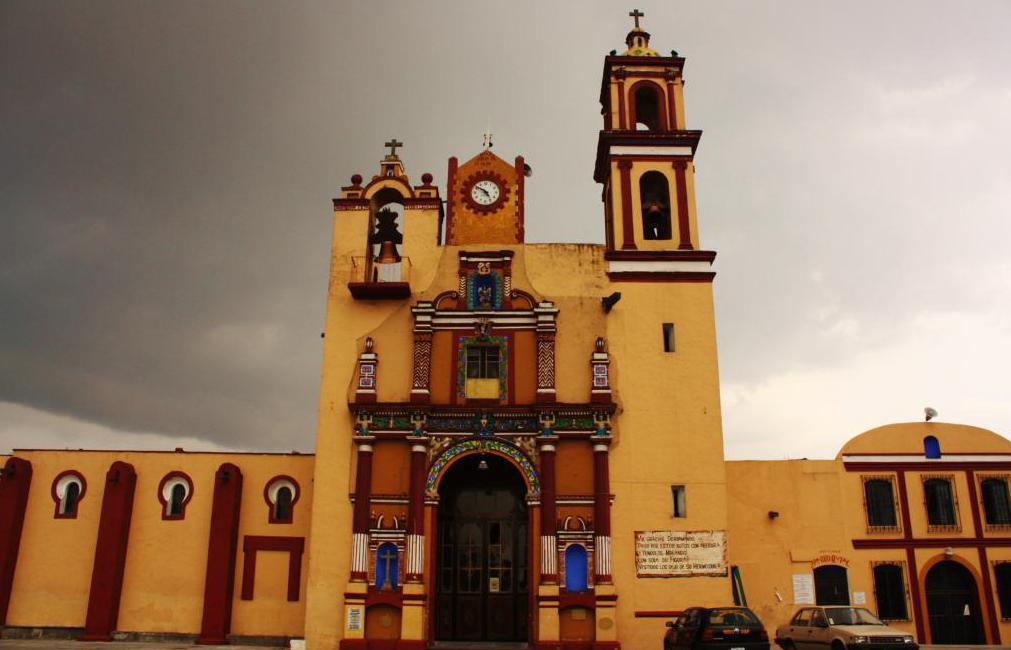 File Saint Jerome Church Puebla De Los Angeles Puebla