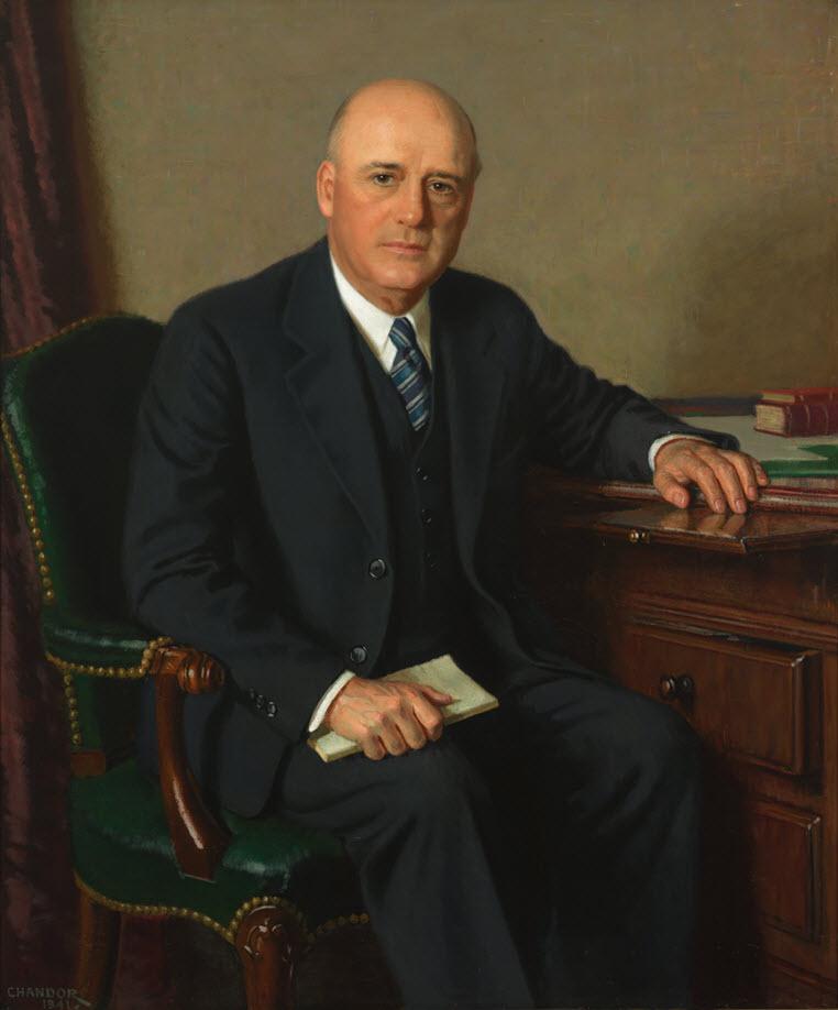 Portrait of Sam Rayburn