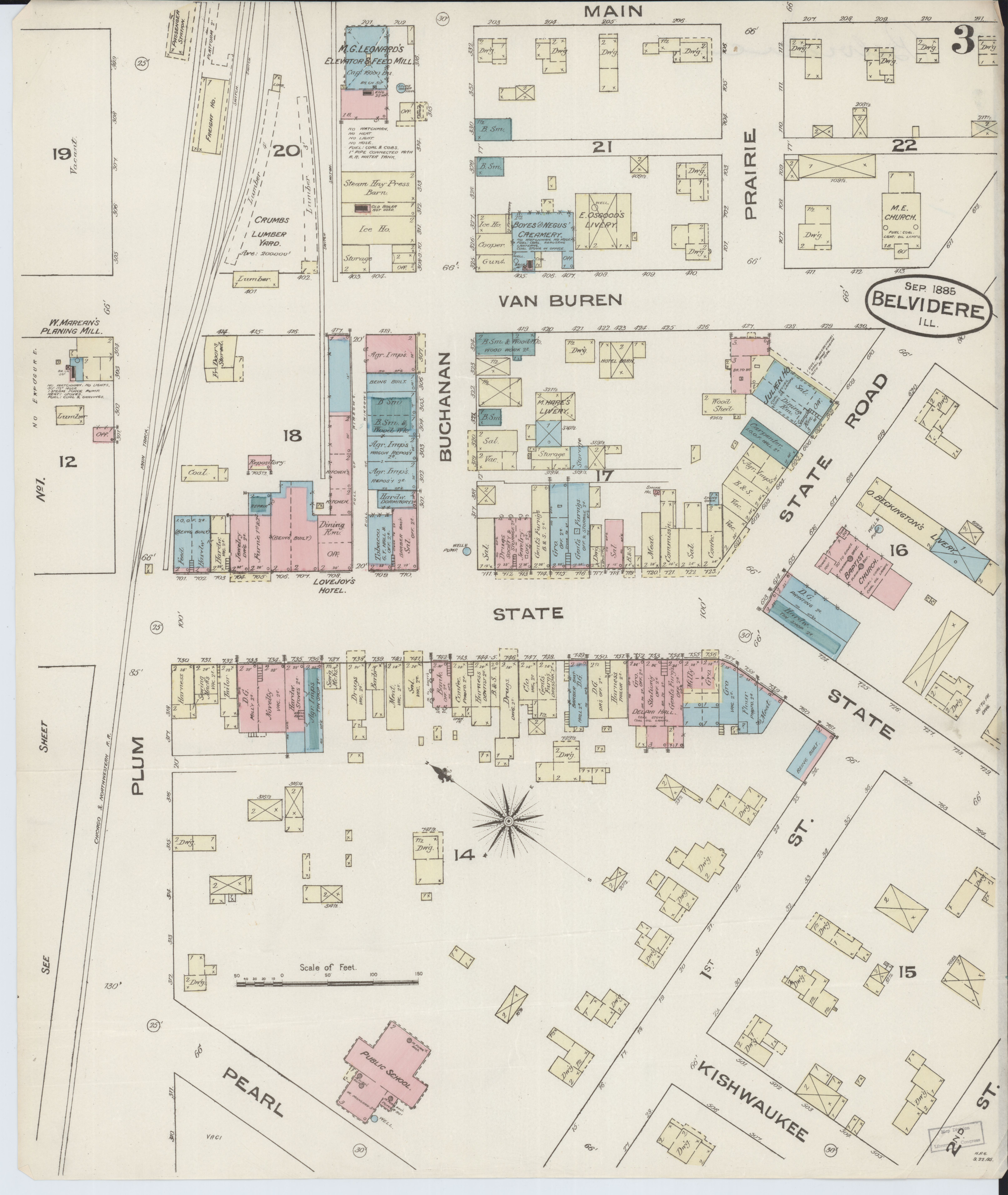 File Sanborn Fire Insurance Map From Belvidere Boone County