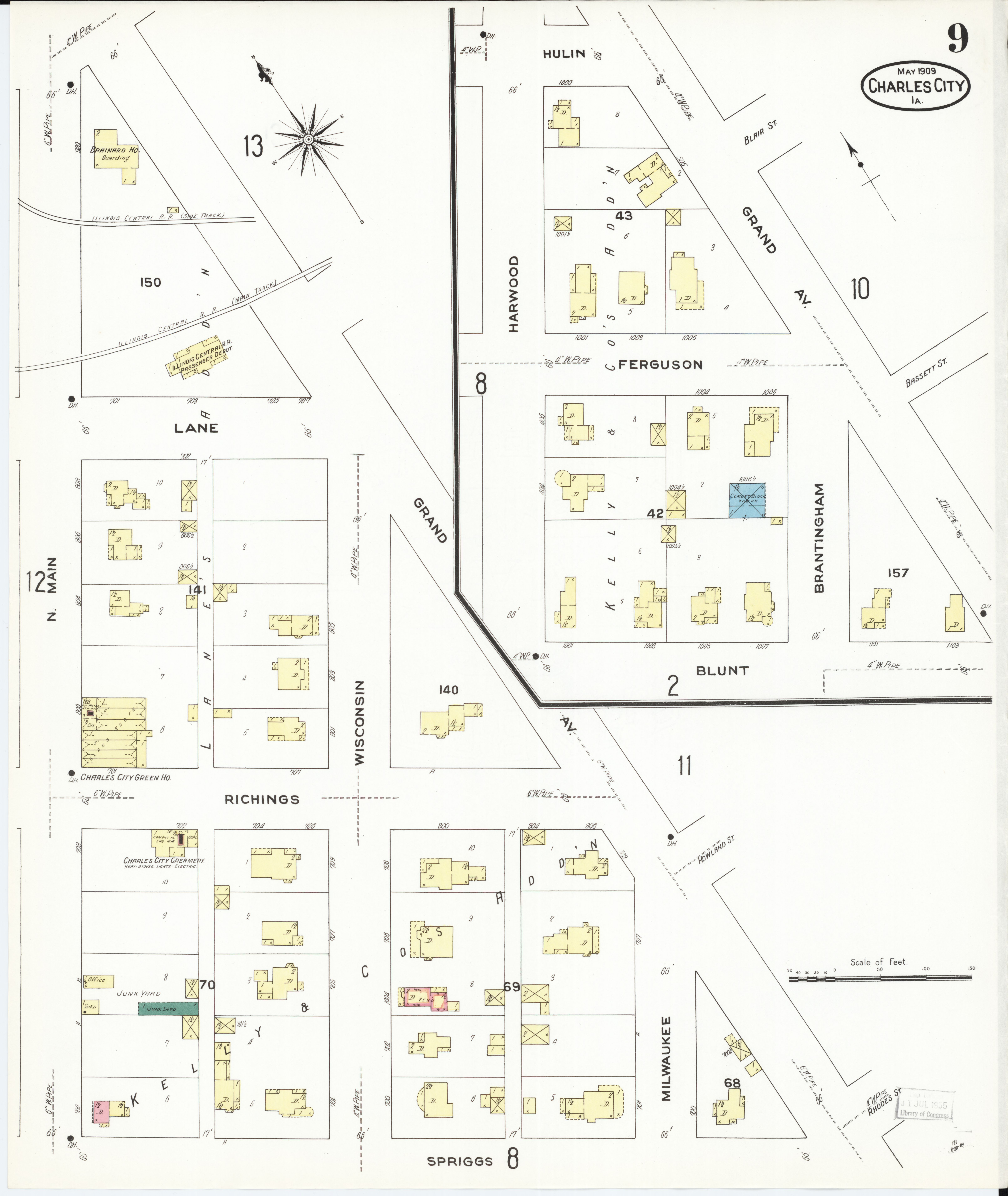 File Sanborn Fire Insurance Map From Charles City Floyd County