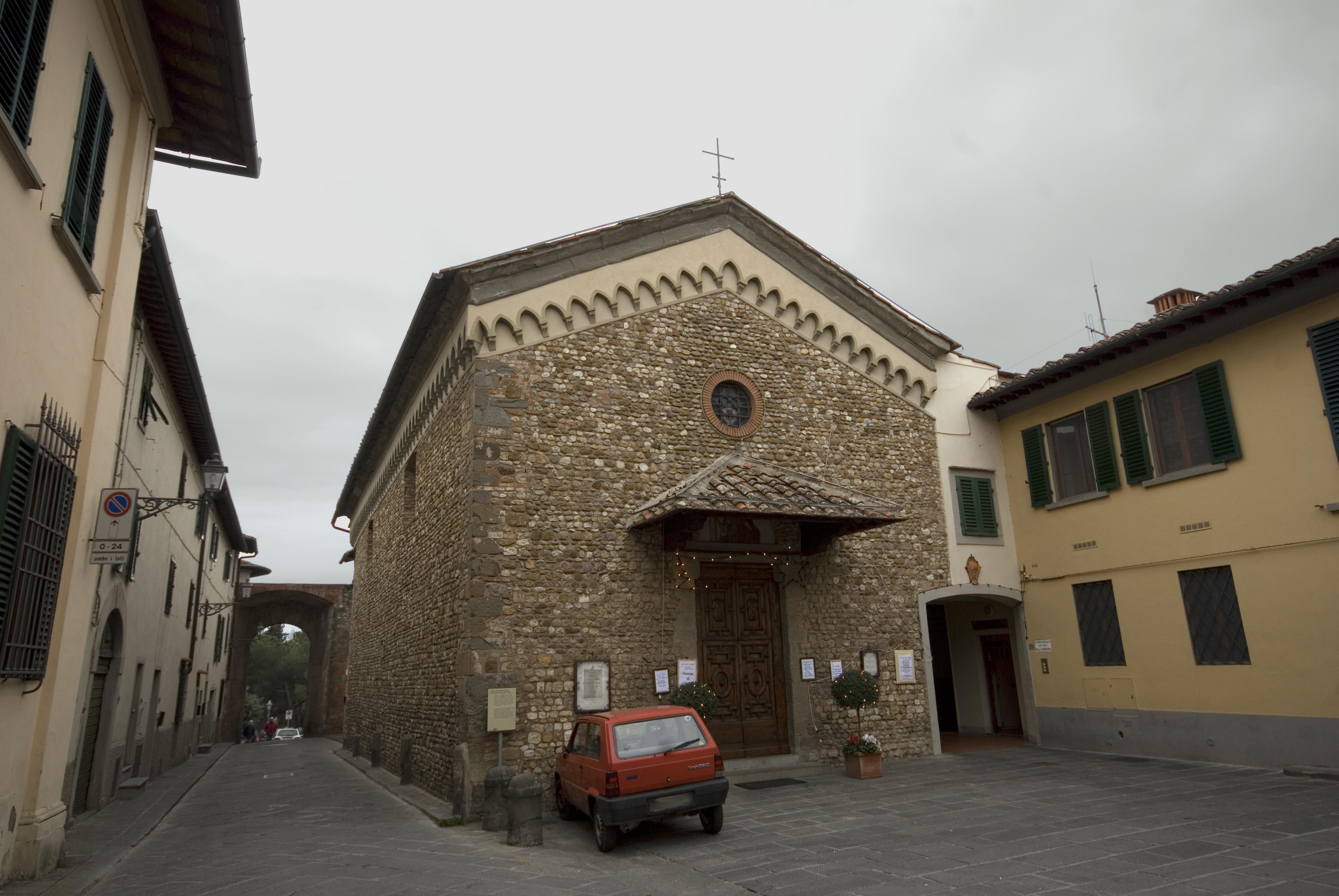 chiesa Santa Maria del Prato, San Casciano in Val di Pesa