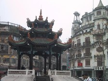The historic quarter of Shantou, which features both Western and Chinese architecture