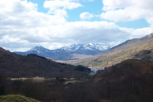 Snowdon Mountain Range - geograph.org.uk - 223684
