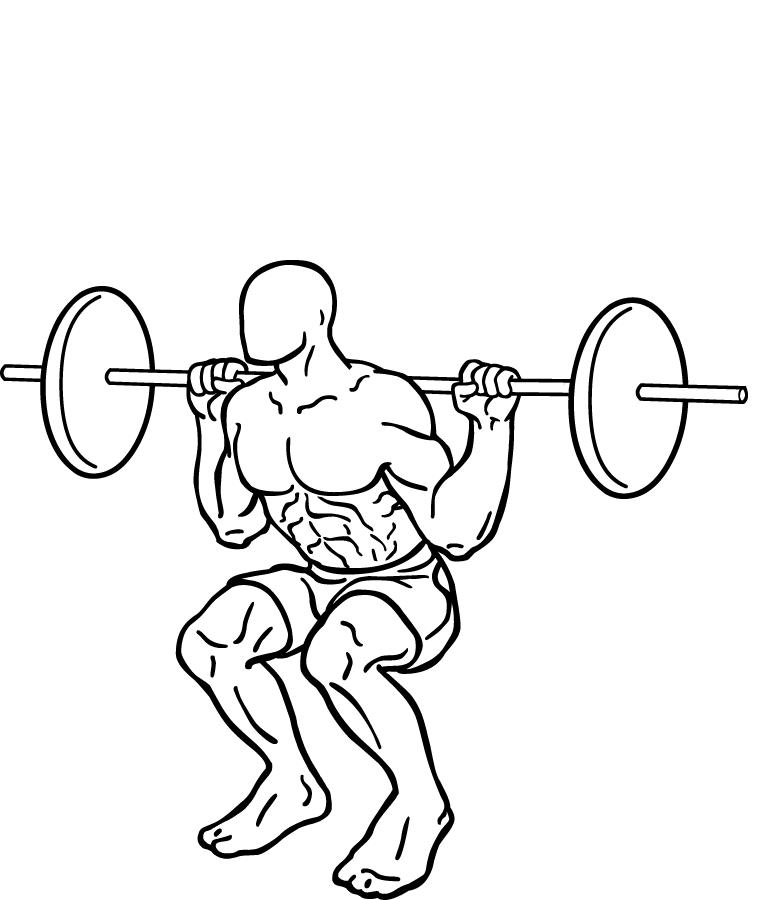 jump squat parkour