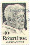 Почтовая марка США, посвящённая Р.Фросту