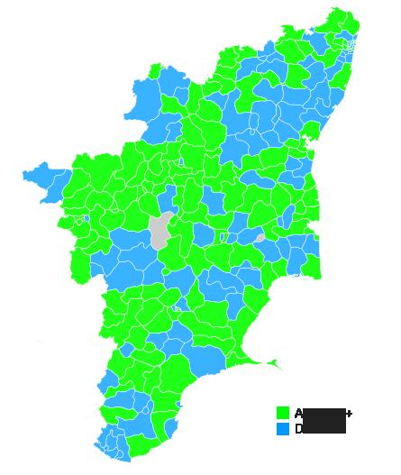 FileTamil Nadu Legislative Election Map Updatedpng Wikimedia - Tamilnadu map