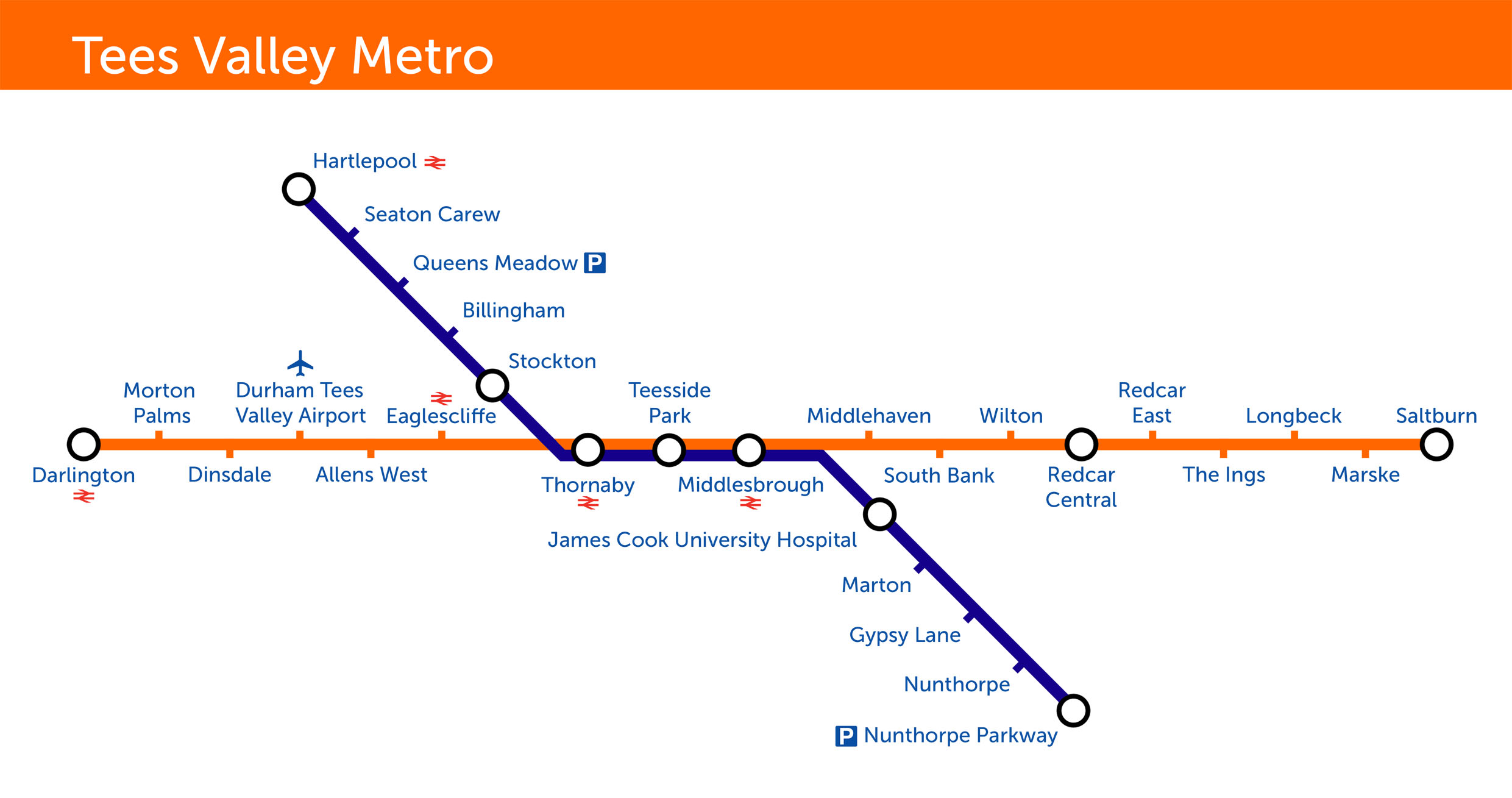 FileTees Valley Metro Route Map jpgjpg Wikimedia Commons
