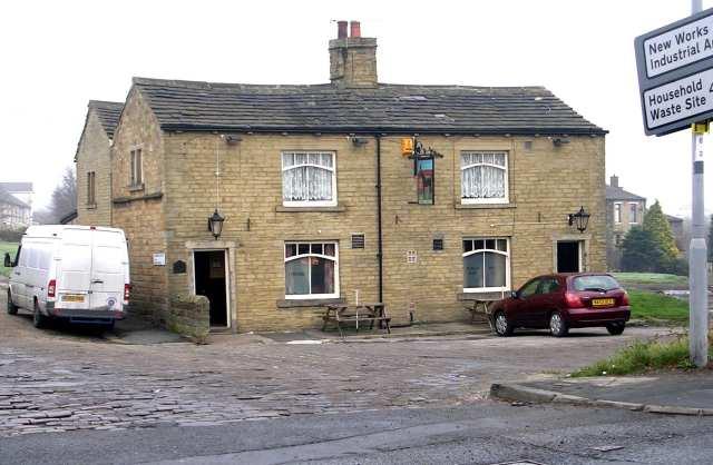 Creative Commons image of The Black Horse Inn in Bradford