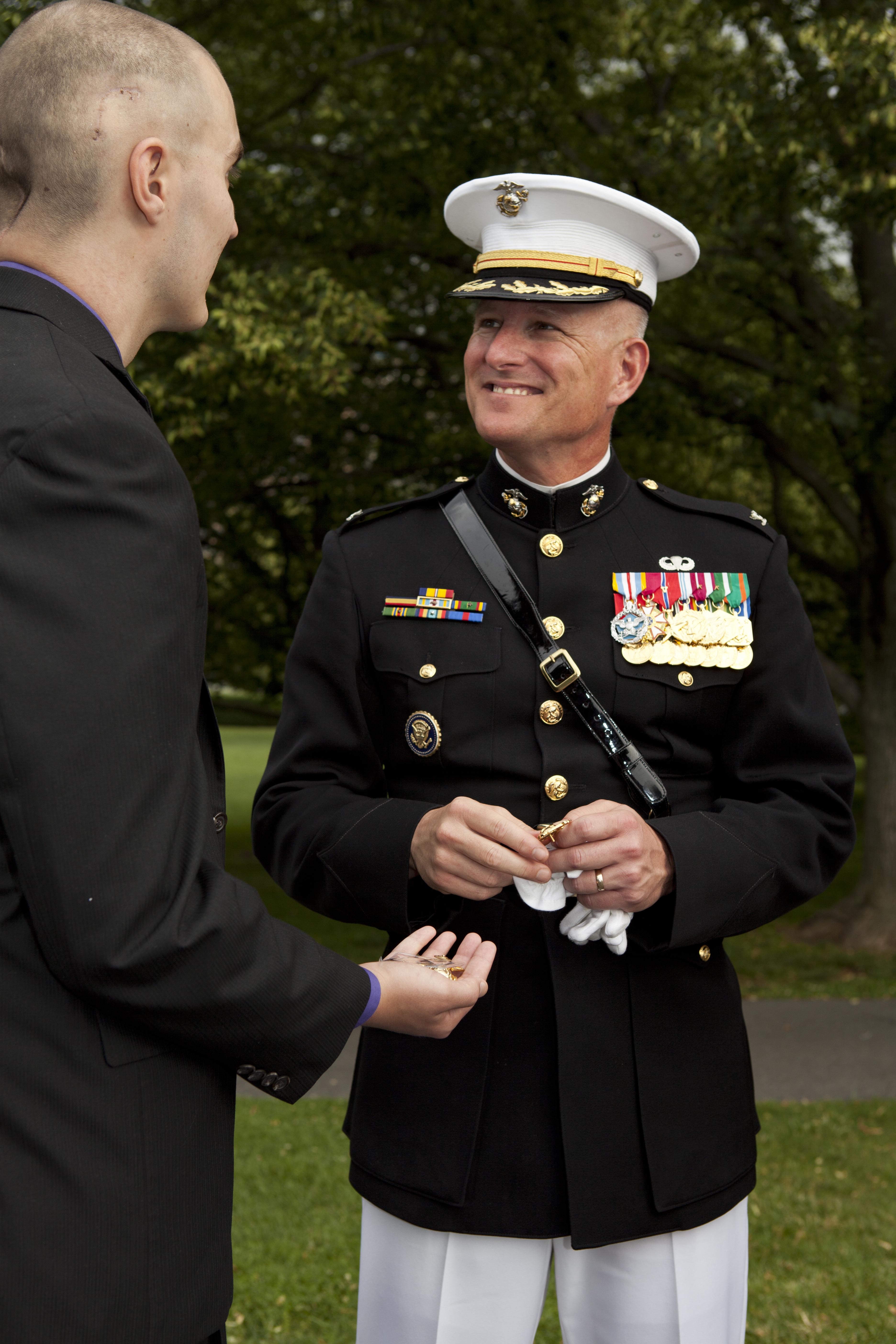 File:The Commanding Officer of Marine Barracks Washington ...