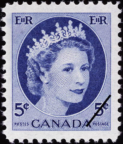 Canadian Postage Stamp, 1954