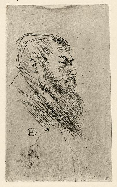 Tristan Bernardpar Henri de Toulouse-Lautrec.