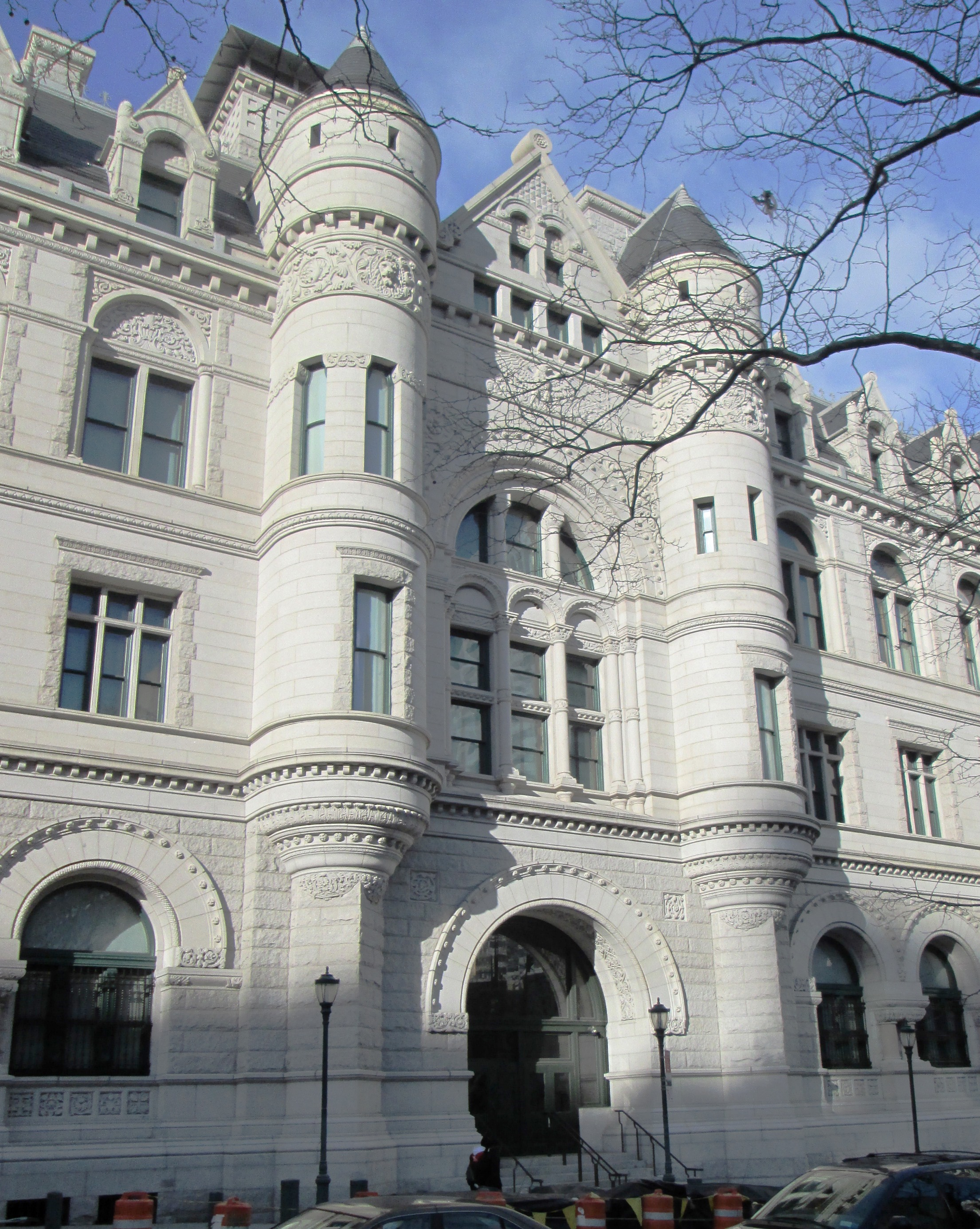 Federal Building And Post Office In New York, New York