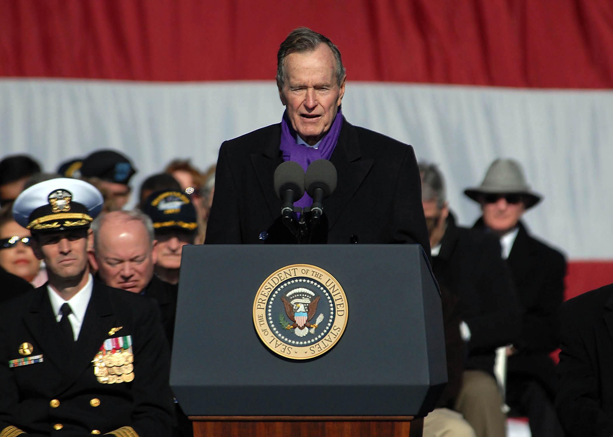Former President George W. Bush's Image Ratings Improve