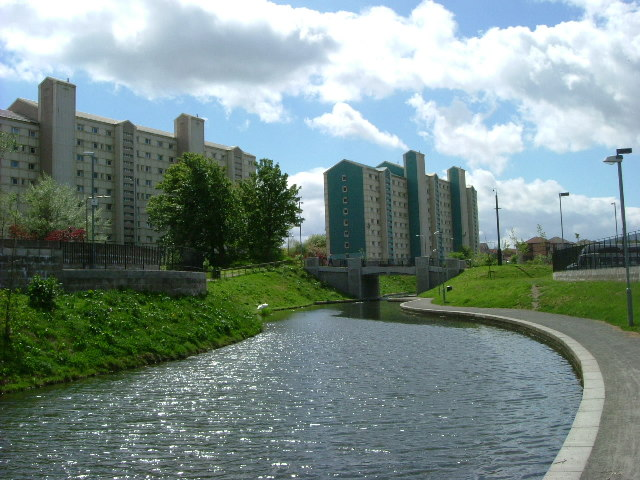Union Canal%2C Wester Hailes in 2004