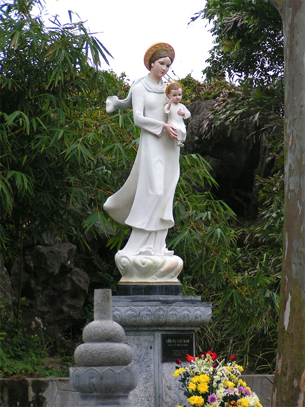 Our lady of la vang wikipedia sciox Image collections