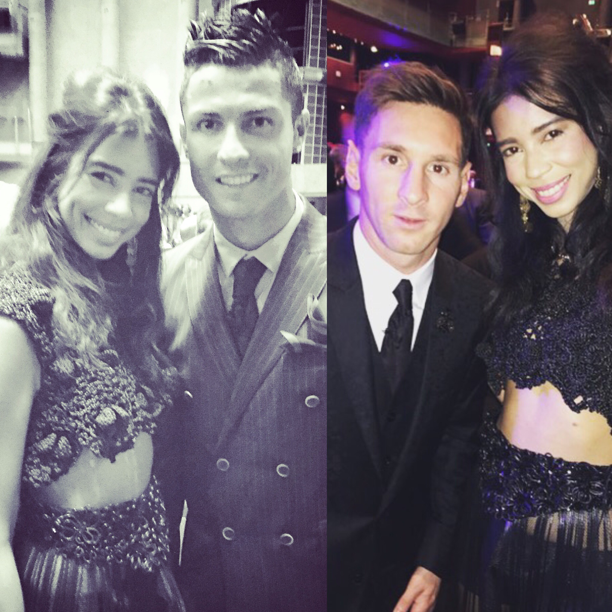 Cristiano Ronaldo I M Not Playing Just Lionel Messi: File:Vanessa Modely Cristiano Ronaldo Lionel Messi.jpg
