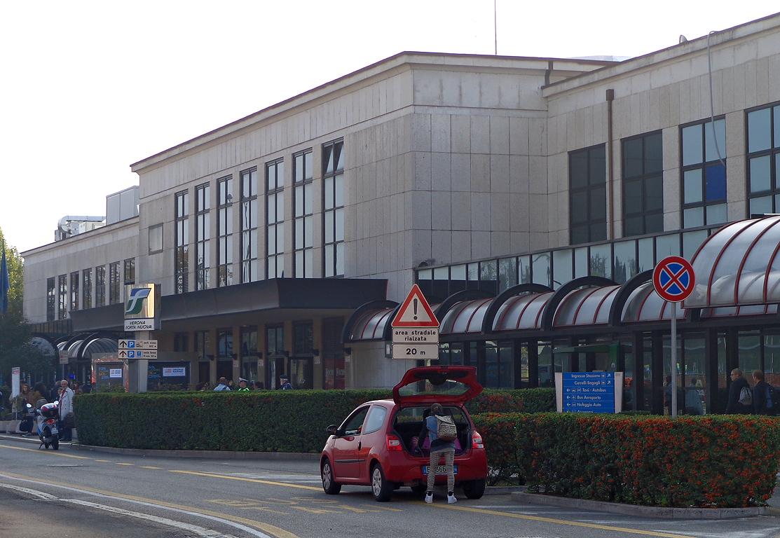 Stazione di verona porta nuova wikipedia - Partenze treni verona porta nuova ...
